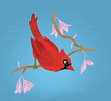 Cardinal by thekohakudragon