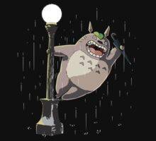Totoro in the Rain by wearviral