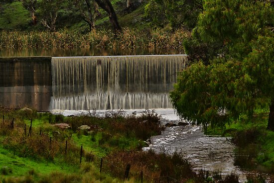 The Railway Dam II by Deborah McGrath