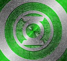 Green Lanatern Shield Logo by littlebeecase