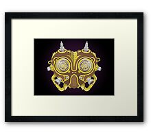 Majoras Mask Steampunk Framed Print