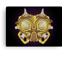 Majoras Mask Steampunk Canvas Print