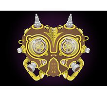 Majoras Mask Steampunk Photographic Print