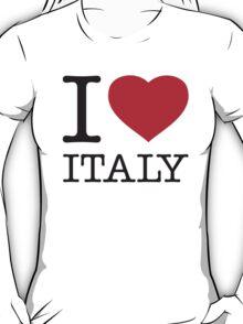 I ♥ ITALY T-Shirt