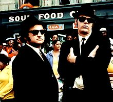 The Blues Brothers by Gabriel T Toro