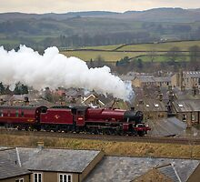 The Galatea Races North towards Carlisle, via Settle by Jan Fialkowski