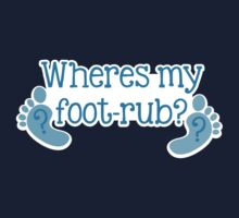 Where's my FOOTRUB? feet cute by jazzydevil