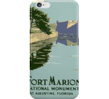 Fort Marion National Monument iPhone Case/Skin