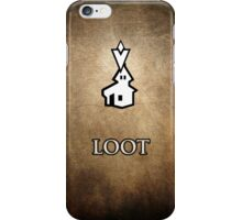 Loot this Settlement - Skyrim iPhone Case/Skin