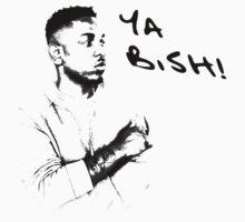 Kendrick Lamar Silhoutte Shirt (Ya Bish!) by Tilp