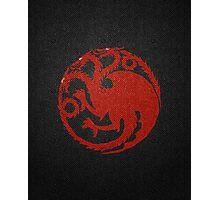 House Targaryen (Game of Thrones) Photographic Print