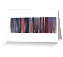 Moviebarcode: Despicable Me 2 (2013)  Greeting Card