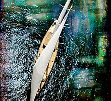 aerial sailboat picture by laikaincosmos
