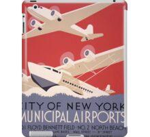 City of New York Airports iPad Case/Skin