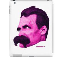 Nietzsche's Head - by Rev. Shakes iPad Case/Skin