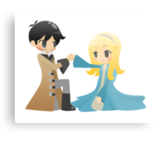 OUAT - Captain Swan Metal Print