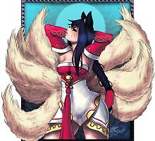 LoL Ahri by zerojigoku