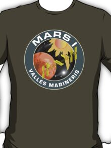 Mars One - Collector's Private Edition Insignia For 2020 Planet Colonization T-Shirt