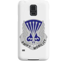 18th Aviation Battalion - Swift Mobility Samsung Galaxy Case/Skin