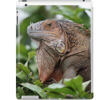 Iguana-Suit of Armour iPad Case/Skin