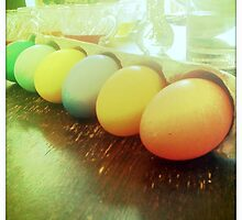 Pastel Easter Eggs by Nalinne Jones