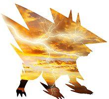 Mega Manectric Thunder Wave by Gage White