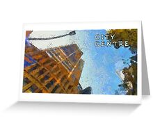 City centre Greeting Card
