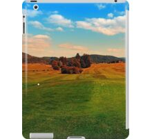 Summer season at the golf club | landscape photography iPad Case/Skin