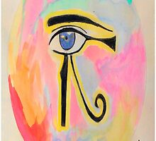Pharaonic eye orb  by Naif