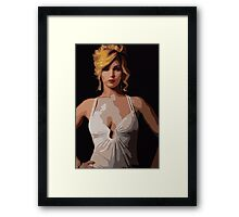 American Hustle Jennifer Lawrence Print Framed Print