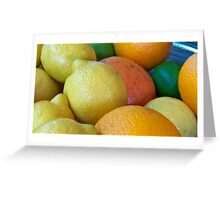Citrus Bold Greeting Card