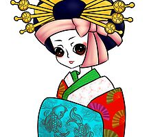 Oiran by Victoria Burgin