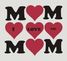 love mom by diannasdesign