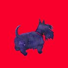 Scottish Terrier Watercolour  by BonniePortraits