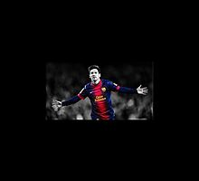 Messi (FC Barcelone) by MorgianaL