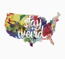 Stay Weird America Kids Clothes