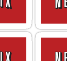 Netflix logo stickers Sticker