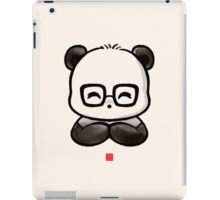 Geek Chic Panda iPad Case/Skin
