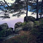 serenity and tranquillity. and rocks.  by DrNagel