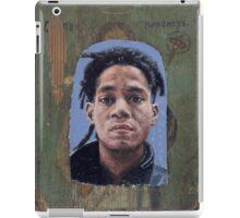 Portrait of Jean-Michel Basquiat iPad Case/Skin