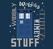 Wibbly Wobbly Timey Wimey Stuff- iPad! by ianthecoolman