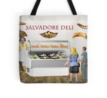 Gala and Ramon decide to have a surreal lunch at the deli. Tote Bag