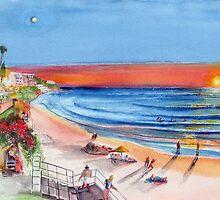 Laguna Beach.  Rites of Sunset by Rob Beilby
