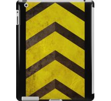 Caution iPad Case/Skin
