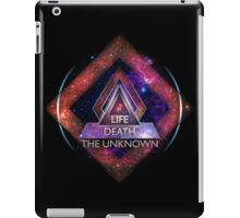 Life Death The Unknown iPad Case/Skin