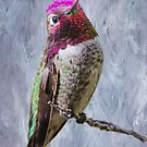 Beautiful Hummer by Barbara Manis