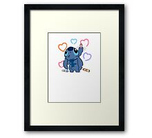 From Stitch with love Framed Print