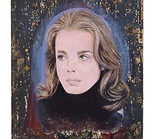 Portrait of Margaux Hemingway by robertpriseman