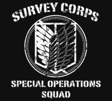 Survey Corps White Kids Clothes