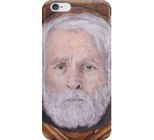 Portrait of R. B. Kitaj iPhone Case/Skin